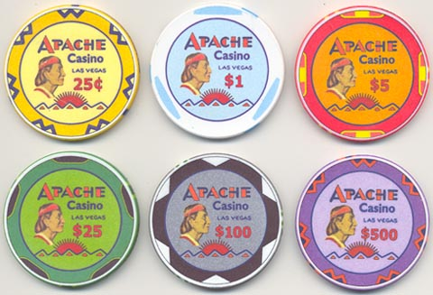 Apache poker supplies
