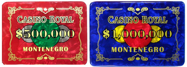 Casino Royale Plaques And Chips