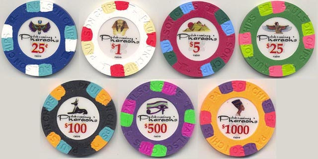 pharaoh poker chips